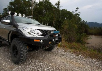 The New Triton with MIVEC Turbo Diesel Engine Will Be Participating in the Borneo Safari 2016!