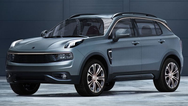 Mercedes Suv Models >> Volvo-owner Geely launches new car brand with compact SUV ...
