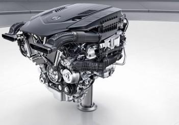 Mercedes-Benz V8-Biturbo-Benzinmotor, M176 ;