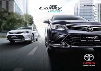 New Toyota Camry variants - 01
