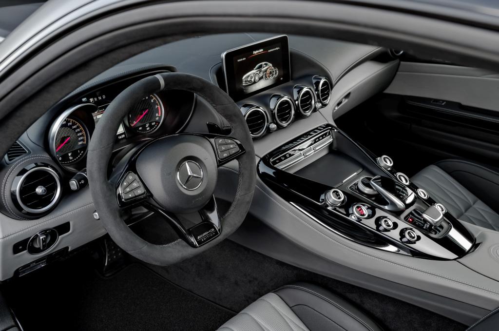 Mercedes-AMG GT C Edition 50, graphitgrau magno, Innenausstattung: Leder Exklusiv Nappa STYLE in silber pearl/schwarz ;Kraftstoffverbrauch kombiniert: 11,3 l/100 km, CO2-Emissionen kombiniert: 257 g/km Mercedes-AMG GT C Edition 50, graphite grey magno, Interior: leather exclusive nappa STYLE in silver pearl/black; Fuel consumption combined: 11.3 l/100 km; Combined CO2 emissions: 257 g/km
