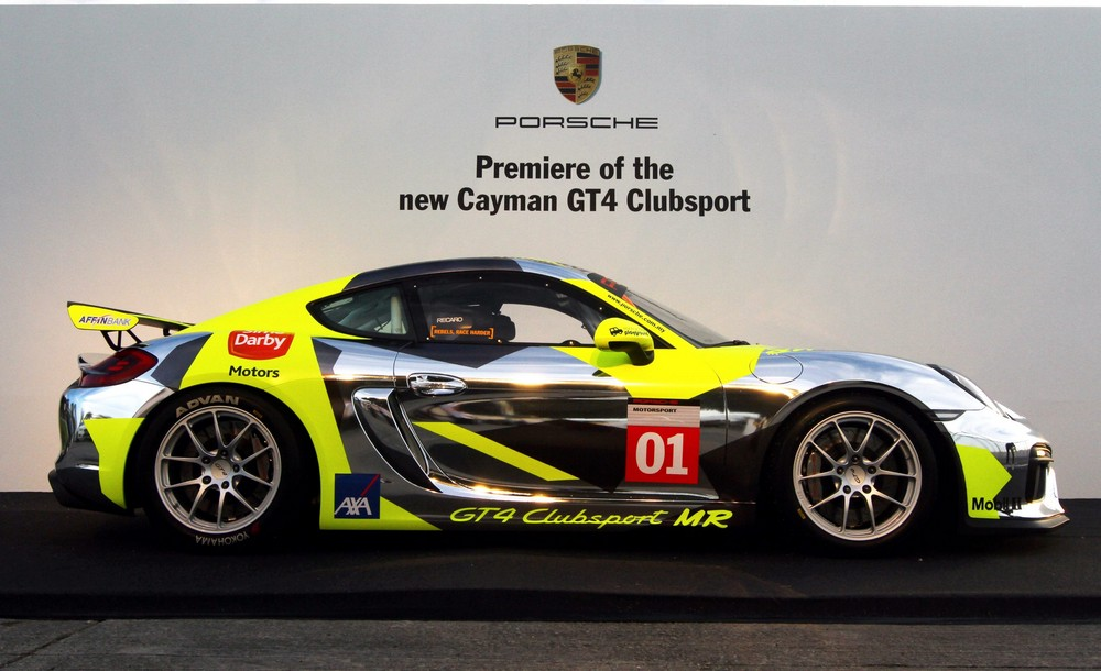 Launch of Porsche Cayman GT4 Clubsport in Sepang Circuit, Sepang MOHD SAHAR MISNI/The Star