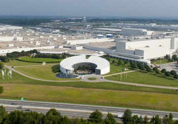 BMW Manufacuring aerials on 8/28/13.  File: 082713GR34