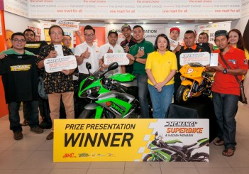 BHPetrol - Menangi Superbike contest winners