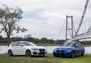 BMW 118i M Sport and BMW 330e M Sport 1 (Medium)