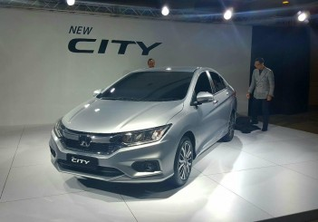 Honda City facelift (2017) - 01