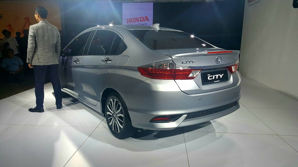 Honda City facelift (2017) - 03