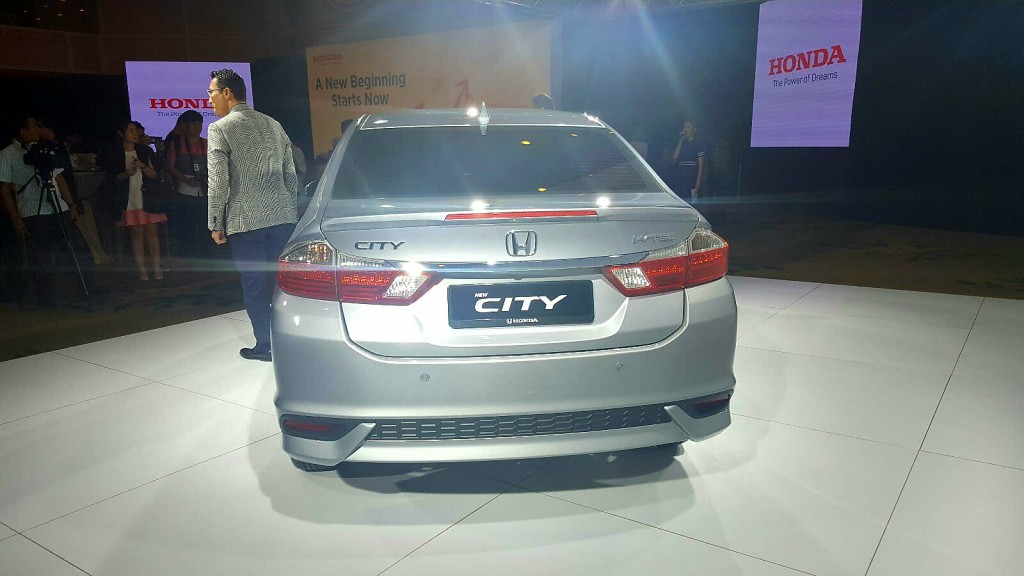Honda City facelift (2017) - 04