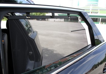 sunshade for second row only