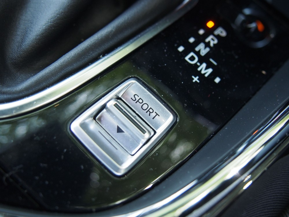 Sport mode toggle switch