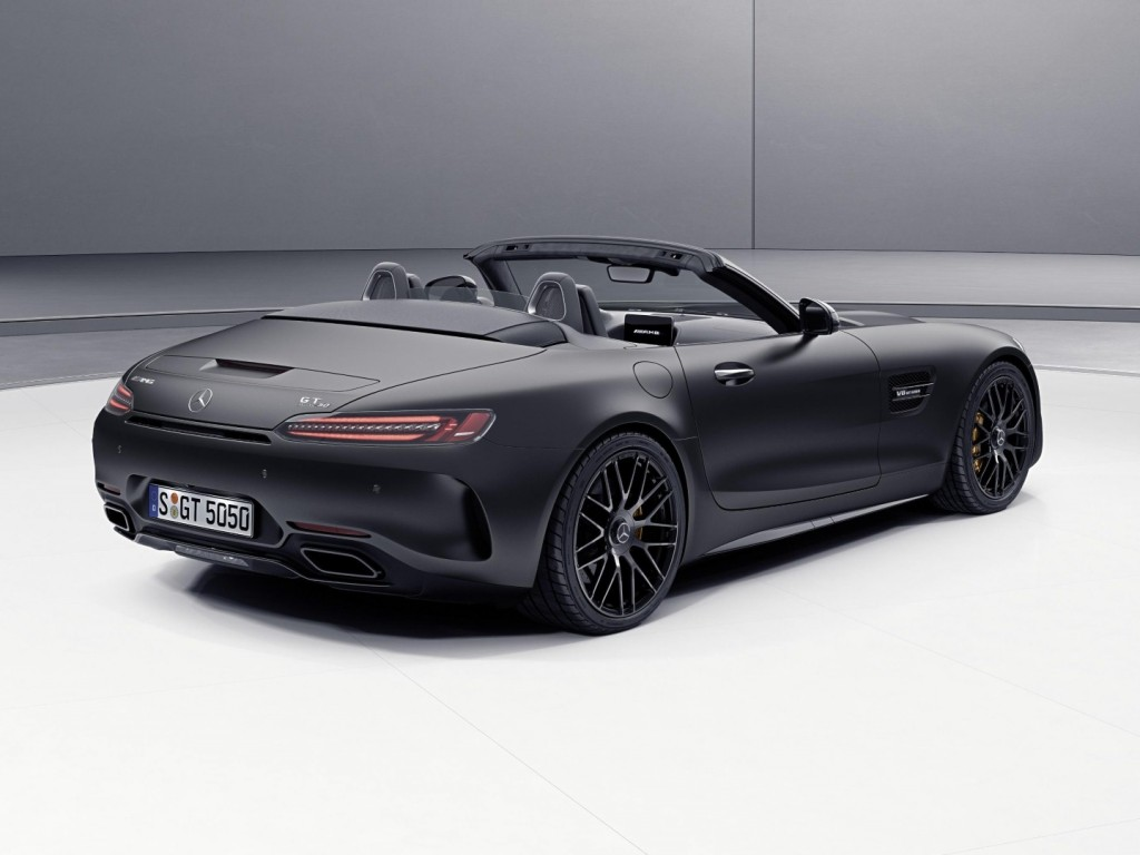 Image result for Mercedes AMG GT C Roadster Edition 50