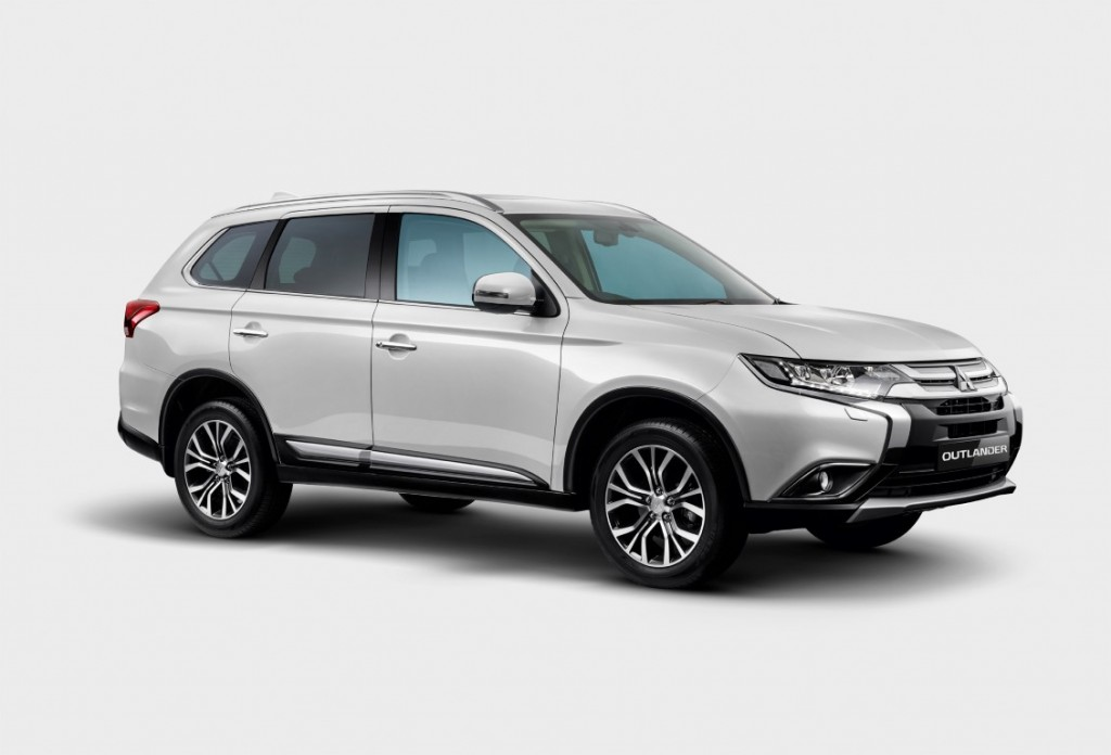 Enhanced Mitsubishi Outlander SUV introduced | CarSifu