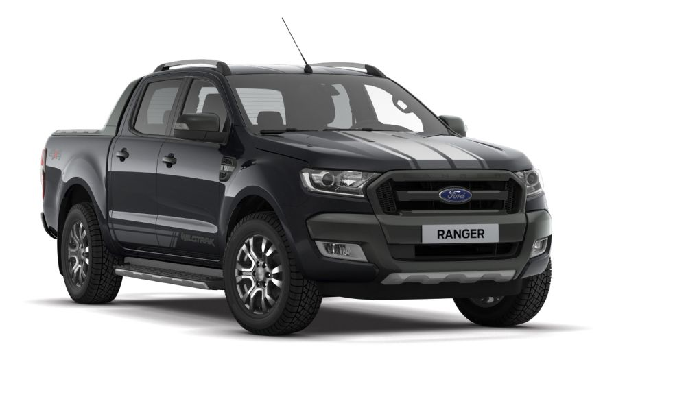 ford ranger wildtrak now in limited edition jet black colour carsifu. Black Bedroom Furniture Sets. Home Design Ideas