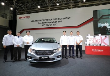 Honda Malaysia Malacca plant achieves 600,000th unit rollout - 03