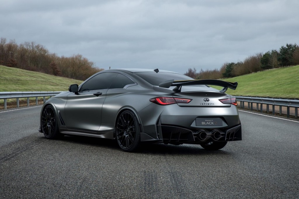 Infiniti And Renault Sport F1 Create Project Black S Carsifu