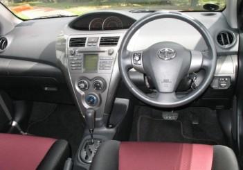 Toyota Vios TRD Sportivo interior