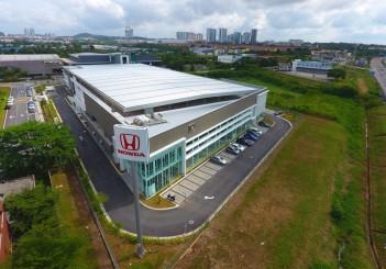 Kah Motor's newest Honda 4S Centre