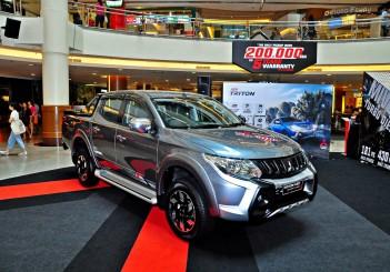Mitsubishi Triton Adventure X with MIVEC turbodiesel - 01