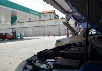 Proton Petronas 20-point safety check (2017)