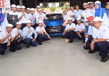 The millionth Myvi