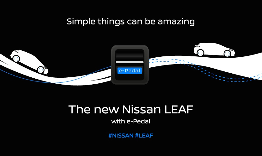 nissan teases one pedal driving feature for new leaf carsifu. Black Bedroom Furniture Sets. Home Design Ideas