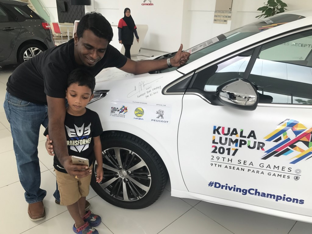 Naza and Peugeot offer free tickets to 29th SEA games ...