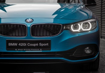The BMW 420i Coupé Sport (4)
