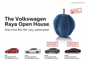 VW Nationwide Raya Open House