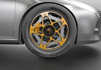 Continental presents new wheel concept for electric cars