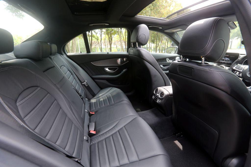 MERCEDES BENZ C350e and BMW 330e M sport.