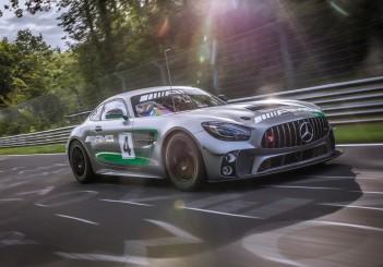 Mercedes-AMG Customer Racing: Der Mercedes-AMG GT4 startet erstmals auf der Nürburgring-Nordschleife