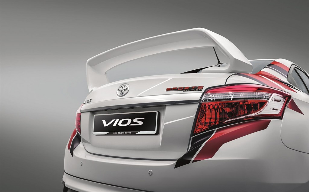 Toyota Vios Sports Edition - 02 TYT Trunk Spoiler