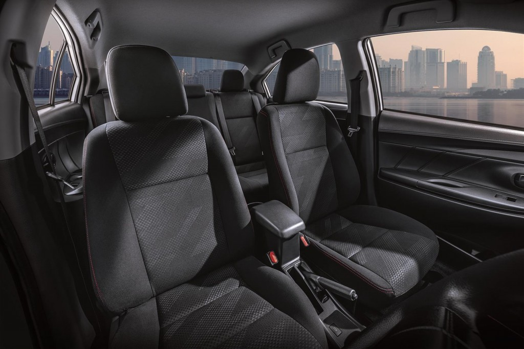 Toyota Vios Sports Edition - 06 TYT abric Seats