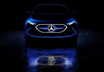 Showcar Mercedes-Benz Concept EQA: EQ-Konzept in der Kompaktklasse