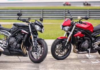 The new Triumph Street Triple RS and S